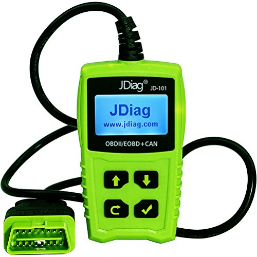 JDiag JD101 Universal Code Readers Engine Scan Tool Check Engine Light Car Diagnostic Tool OBD2 Scanner with Battery Test