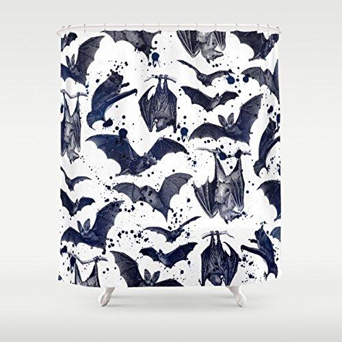 Gerenic BATS Shower Curtain - Bat Shower Curtain
