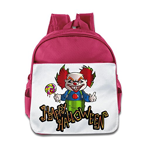 XJBD Custom Cute Halloween Kids Children School Bag Backpack For 1-6 Years Old Pink (Tales Of Halloween Dvd Release Date)