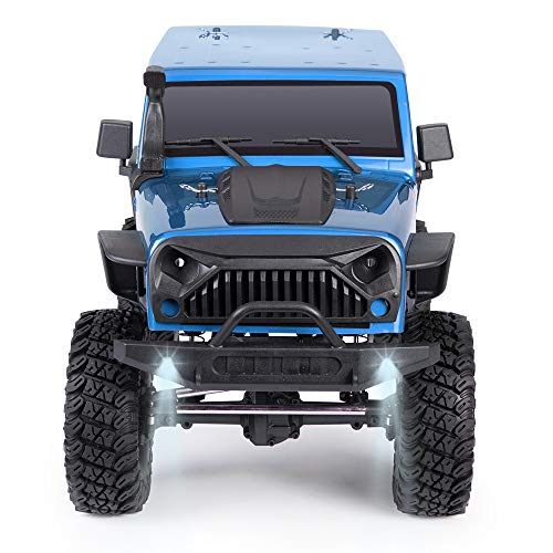 @MZL Monster Truck Fast Electric Rock Crawler 4WD high Speed car 1/10 Ratio 2.4Ghz Wireless Remote Control Racing Race Desert car Adult Professional Off-Road Climbing ()