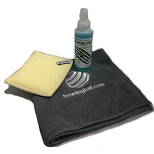bowlingball.com Bowling Ball Cleaning Kit (Bowling Ball Cleaning Wipes)