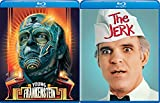 Not Wild or Crazy Just Wacky & Zany The Jerk Steve Martin + Young Frankenstein Mel Brooks Comedy 2 Pack