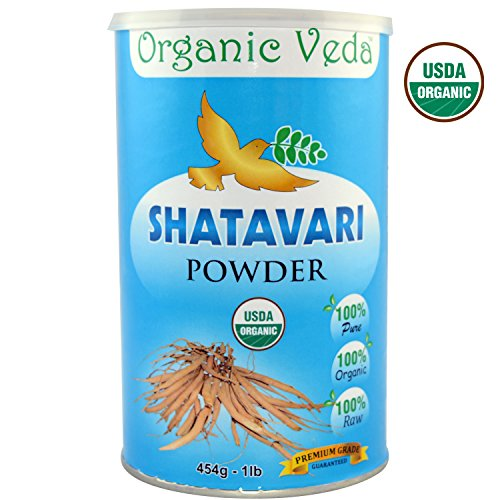Organic SHATAVARI Powder Supplement Registered