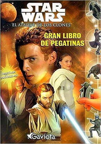 Book Star Wars. Episodio II: El Ataque de los clones. Gran libro de pegatinas