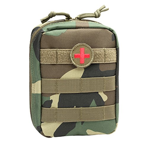 Bag Woodland Shoulder (Orca Tactical MOLLE EMT Medical First Aid Pouch (Bag Only) (Woodland Camo))