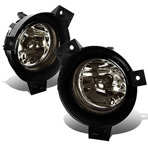 (For Ford Ranger Pickup Pair of Bumper Driving Fog Lights (Smoke Lens))