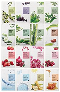 Mizon Essence Full Face Facial Mask Sheet (16 Combo Pack)