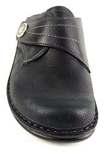 Finn Apos Pantolette Black Bermuda Soft Bettung Delle S Zoccoli Black Donne 82580 Comfort amp; dtqYwRY