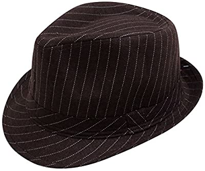 Simplicity Men Women Manhattan Structured Gangster Trilby Wool Fedora Hat