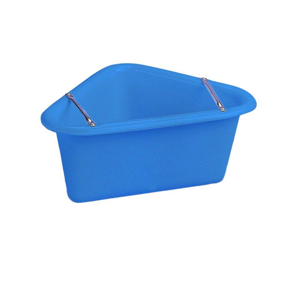 Stubbs Plastic Corner Manger (One Size) (Blue) by Stubbs