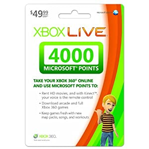 Ratings and reviews for Xbox LIVE 4000 Microsoft Points - Xbox 360 Digital Code