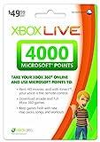 Xbox LIVE 4000 Microsoft Points - Xbox 360 Digital Code