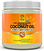 Zesty Paws Coconut Oil is a superfood supplement derived from 100% Certified Organic coconuts that provides dogs with all-natural nourishment. As a clean source of medium-chain triglycerides (fatty acids), this extra virgin Coconut Oil helps ...