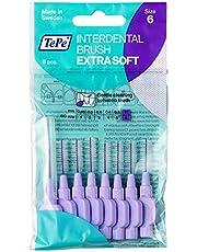 TePe interdentale borstels X-soft, per stuk verpakt (1 x 8 stuks) helllila 1,1 mm