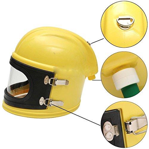 AIR FED Safety Sandblast Helmet Sand Blast Hood Protector for Sandblasting by BIC (Image #6)