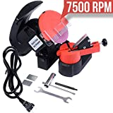 Chain Saw Sharpener Electric Chainsaw Chain Grinder 7500 RPM grinding speed. Bench, Wall or Vise Mount Tool Blade HD