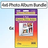 Pioneer Photo Albums 4 X 6 Magnetic Photo Frame holds 6 photos up to 4''x6''
