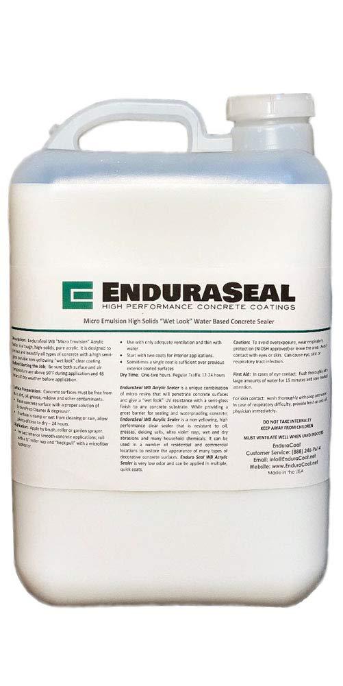 "EnduraSeal Acrylic""Wet Look"" Semi Gloss Sealer (WB) - 5 Gallon"