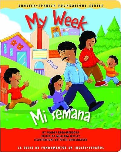 My Week/mi Semana por Milliana Wesley