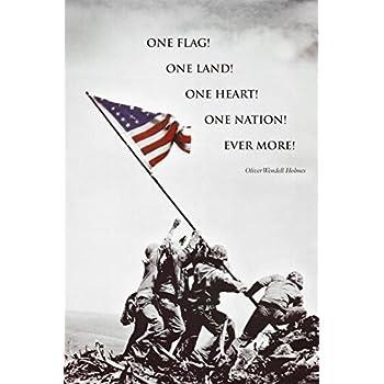 American Flag at Iwo Jima Poster Print, 24x36 Poster Print, 24x36