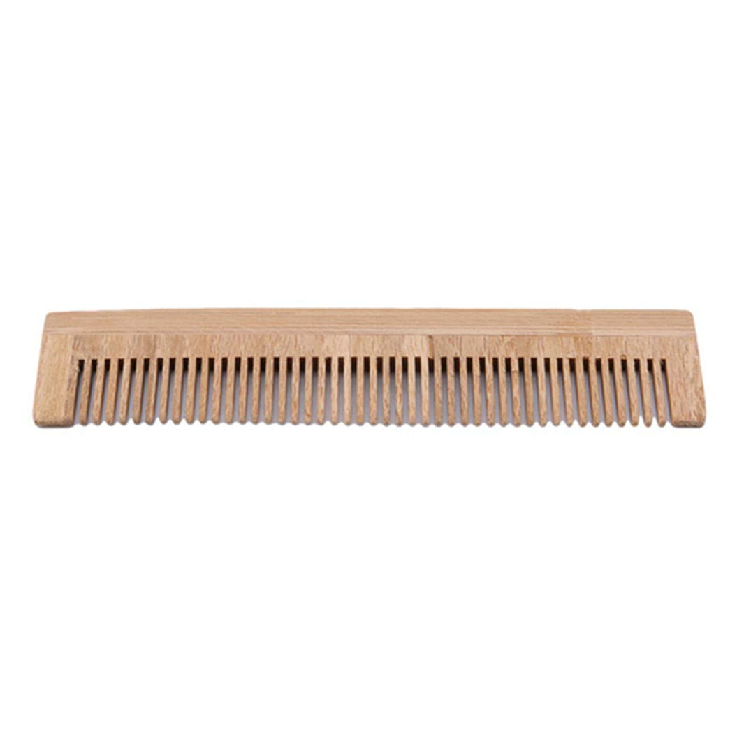 LZIYAN Bamboo Disposable Comb Hotel Hair Comb Fine Tooth Detangling Tool Hair Care Accessories by LZIYAN (Image #4)