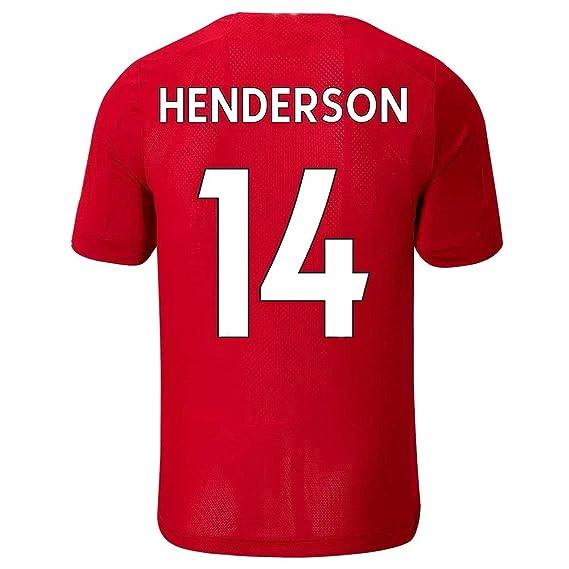 LDFN Jordan Henderson #14 Camiseta de fútbol para Hombre ...