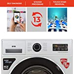 IFB 7 Kg 5 Star Fully-Automatic Front Loading Washing Machine (SERENA ZXS, Silver, 3D Wash Technology,Aqua Energie,In…