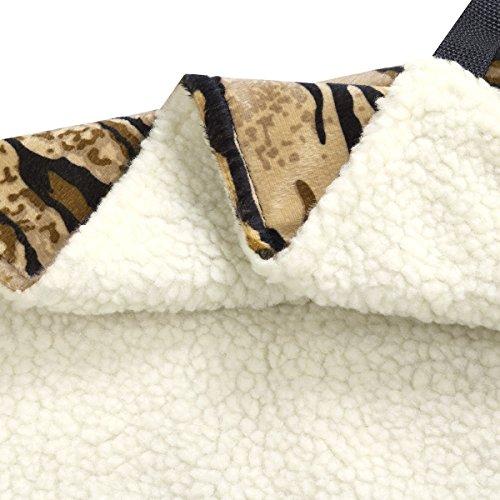 delicate CHICTRY Cat Hammock Kitten Hanging Hammock Bed Pad Pet Cat Cage Comforter
