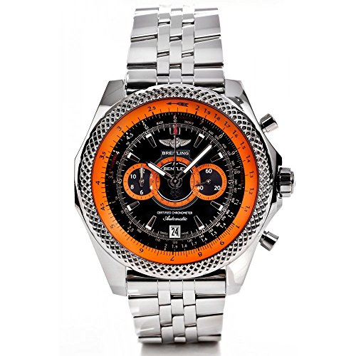 Breitling For Bentley Super Sports LE Stainless Steel Chronograph Watch (Certified Pre-Owned)