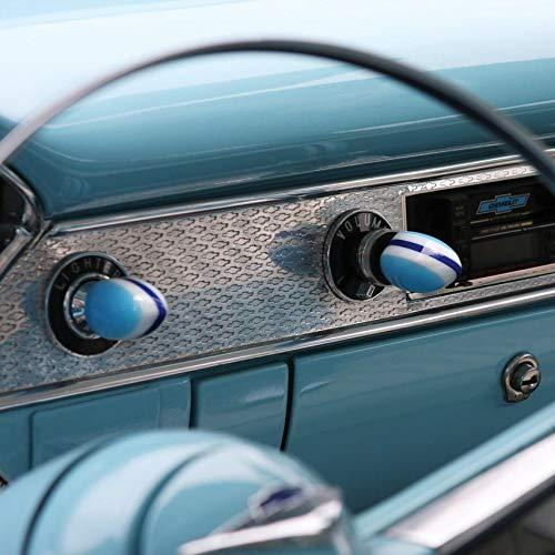 American Shifter 55921 Blue Small Tear Shape Dash Knob