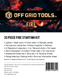 Fire B.O.S.S.Off Grid Tools Survival Fire Starting