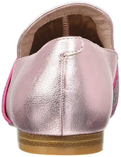 Kenneth Cole New York Womens Walden Shine Glitzy Slip Loafer Plat Roze
