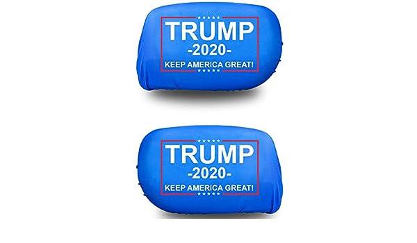Van /& Truck Side Mirror Covers 2-Pack Sunburst Ventures Trump 2020 Keep America Great Automobile Car