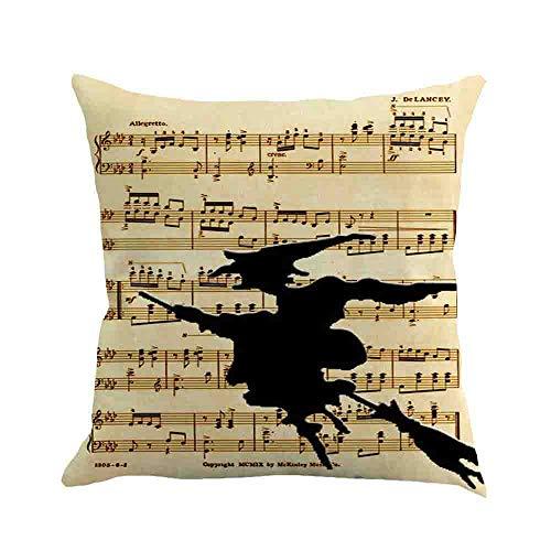 Halloween Pillowcase DOOIOR Ghost Pillow Case Sofa Waist Throw Cushion Cover Home Decor Linen Hug Pillowcase