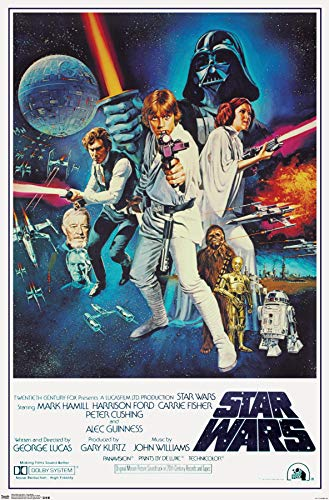 Trends International Star Wars IV One sheet Collector