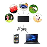 GPS Tracker,Hangang GPS Monitoring Mini Portable Real Time GPS Tracker for Kids Elder Pet Cat Dog Car Vehicle Personal Google Map SOS Geo Fence Alarm GSM GPRS Tracker TK901
