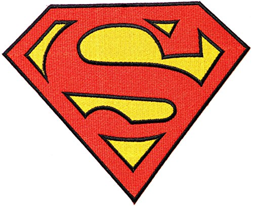 Large Size Superman Logo Man of Steel Superhero