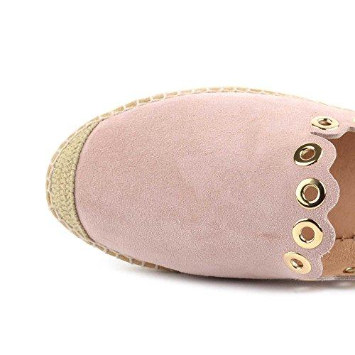 Kanna Pink Olay Schuhe Wildleder Damen Aus Dora Espadrilles Sandalen rYASZW8raq