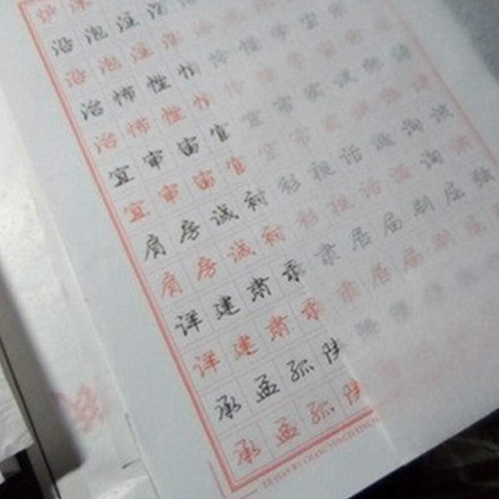 Transparentpapier 100 St/ück Transfer Skizze Drucken Copybook Kalligraphie Engineering Zeichnung durchscheinendes Design