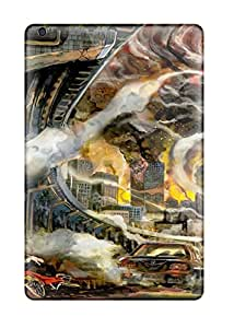 DanRobertse KrxBTcj4096zPmYT Case For Ipad Mini/mini 2 With Nice Animal Car Cat City Fire Jpeg Artifacts Kneehighsmotorcycle Original Ruins Shirakaba Appearance