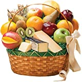 Connoisseur Fruit & Gourmet Basket by Gift Basket
