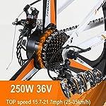 Hyuhome-Bici-Elettrica-Per-Uomini-Adulti-Donne-26-E-Bike-Pieghevole-250W-350W-36V-10A-18650-Batteria-Agli-Ioni-Di-Litio-in-Montagna-Con-Sistema-Di-Trasmissione-Shimano-A-21-Velocita