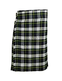 Dress Gordon Men's 5 Yard Scottish Kilts Tartan Kilt 13oz Highland Casual Kilt