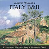 Karen Brown's Italy B&B, Clare Brown and Nicole Franchini, 1933810246