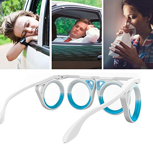 Anti-Motion Sickness Goggles Glasses Against Nausea Travel Sickness or Dizziness Glasses Anti-Auto Sickness Glasses Anti-Corona Goggles Healing Car Sickness Glasses or Dizziness