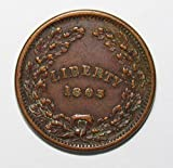 1863 Liberty Union Civil War Token Fine+