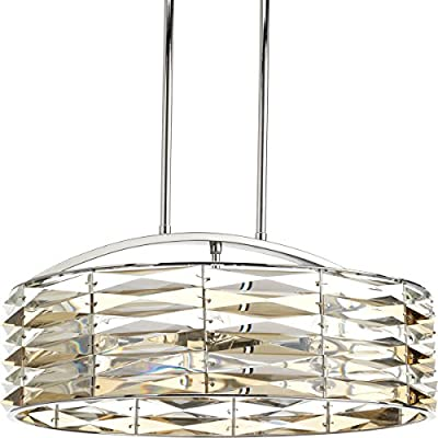 Progress Lighting P5192-15 The Pointe 6 Light Pendant, 19""