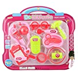 Wholesale 12 PC Dr Little Susie Girls Medical Doctor Toy Play Set - Case of 36