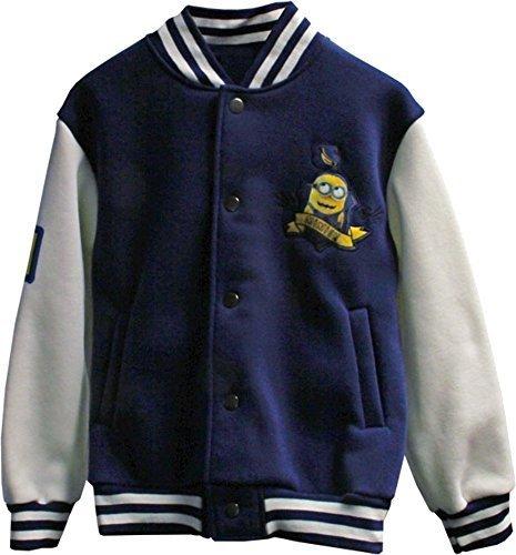 Despicable Me Minions Official niños chaqueta de béisbol 64b0632b980