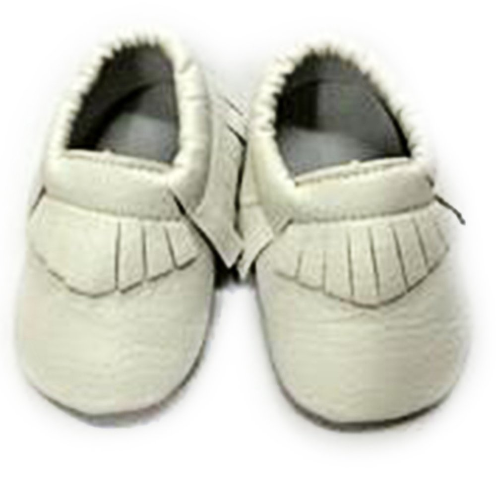 YING LAN Baby Tassel Shoes Soft Faux Leather Infant Toddler First Walkers Shoes